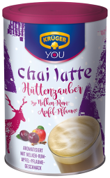 KRÜGER chai latte Hüttenzauber