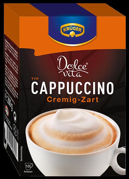 KRÜGER Dolce Vita Cappuccino cremig-zart