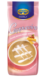 FAMILY Typ Cappuccino Haselnuss-Waffel