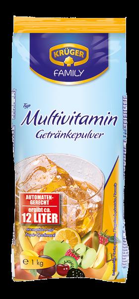KRÜGER FAMILY Getränkepulver Multivitamin