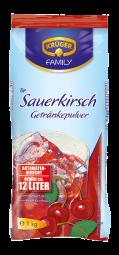 KRÜGER Fruchtgetränkepulver Sauerkirsche 1000g