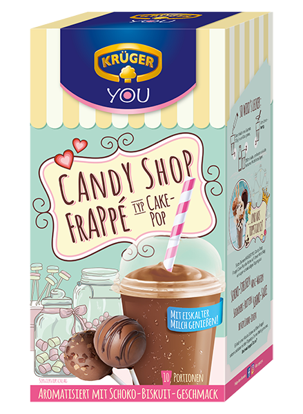 KRÜGER YOU Candy Shop Frappé Cakepop