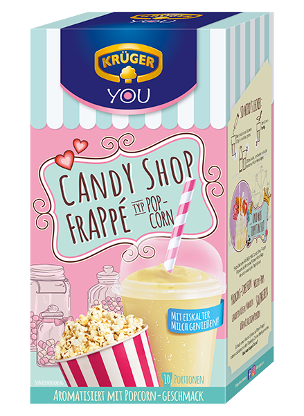 KRÜGER YOU Candy Shop Frappé Popcorn