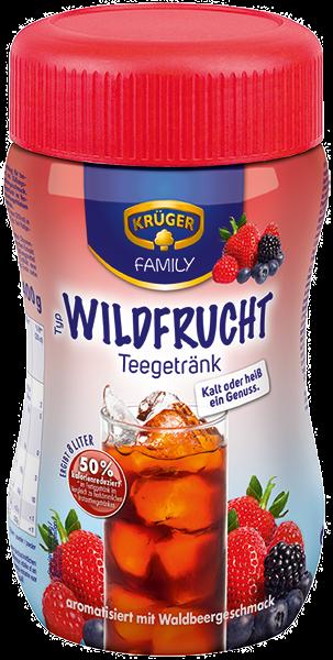 KRÜGER FAMILY Teegetränk Wildfrucht 50 % kalorienreduziert