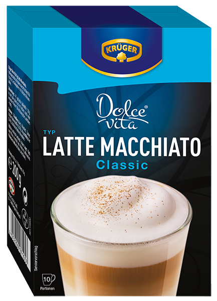 KRÜGER Dolce Vita Latte Macchiato Classic