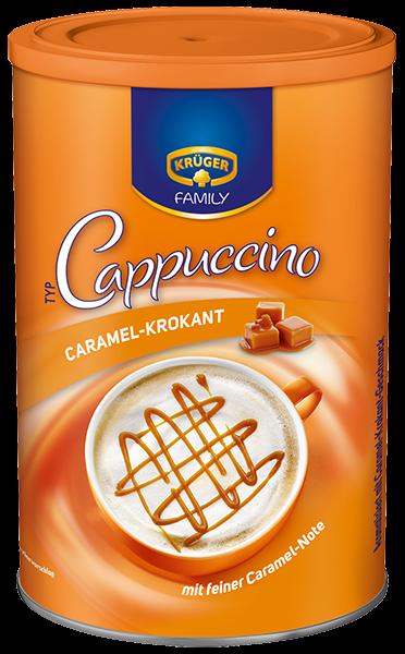 KRÜGER FAMILY Cappuccino Caramel-Krokant