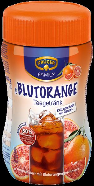 KRÜGER FAMILY Teegetränk Blutorange 50 % kalorienreduziert