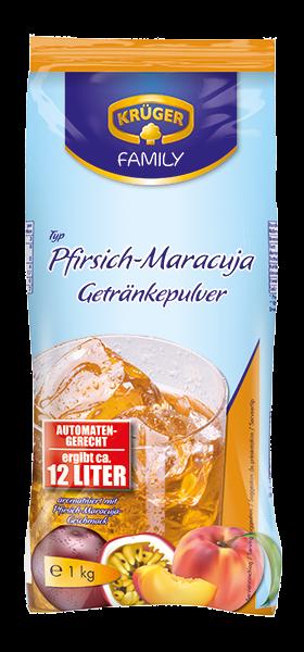 KRÜGER FAMILY Getränkepulver Pfirsich Maracuja