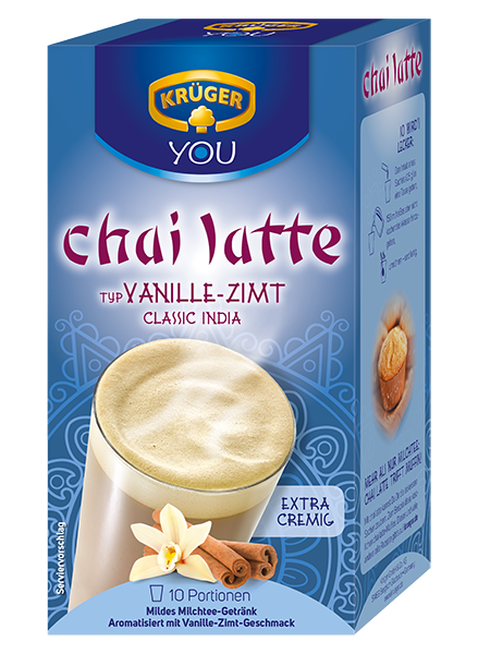 KRÜGER YOU chai latte Classic India Vanille-Zimt