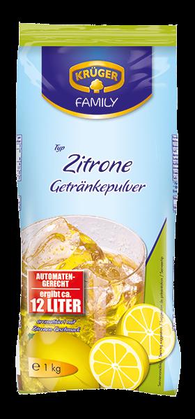 KRÜGER FAMILY Getränkepulver Zitrone