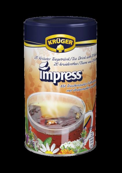 KRÜGER Impress 20 Kräuter Teegetränk – mit Dextrose