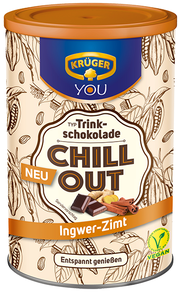 KRÜGER YOU Chill Out Trinkschokolade Ingwer-Zimt