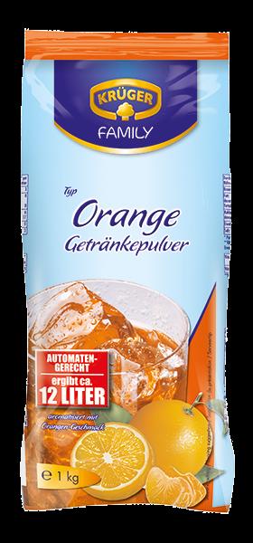 KRÜGER FAMILY Getränkepulver Orange