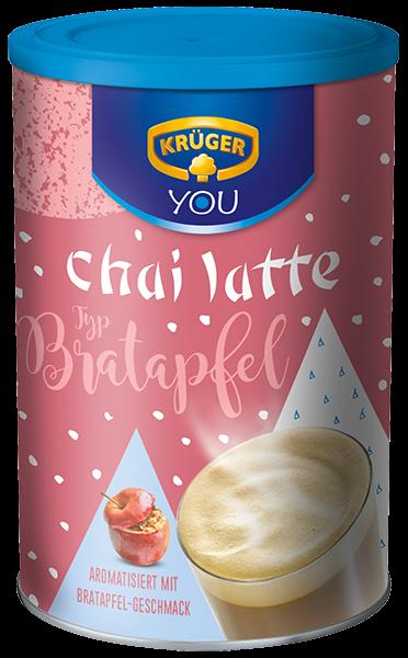 KRÜGER chai latte Bratapfel