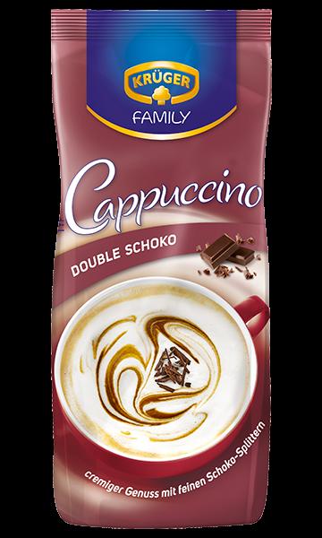 KRÜGER FAMILY Cappuccino Double Schoko
