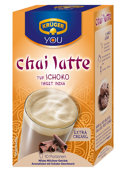 KRÜGER YOU chai latte Schoko