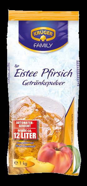 KRÜGER FAMILY Getränkepulver Eistee Pfirsich