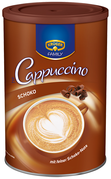 KRÜGER FAMILY Cappuccino Schoko
