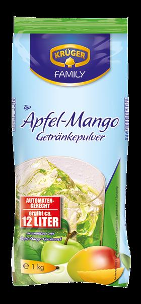 KRÜGER FAMILY Getränkepulver Apfel-Mango