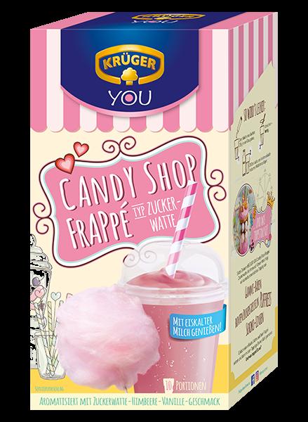 KRÜGER YOU Candy Shop Frappé Zuckerwatte
