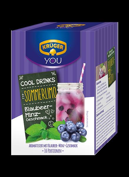 KRÜGER Cool Drinks Blaubeer-Minz