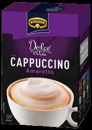 KRÜGER Dolce Vita Cappuccino Amaretto 150g