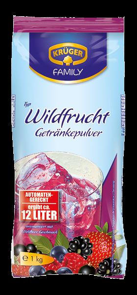 KRÜGER FAMILY Getränkepulver Wildfrucht