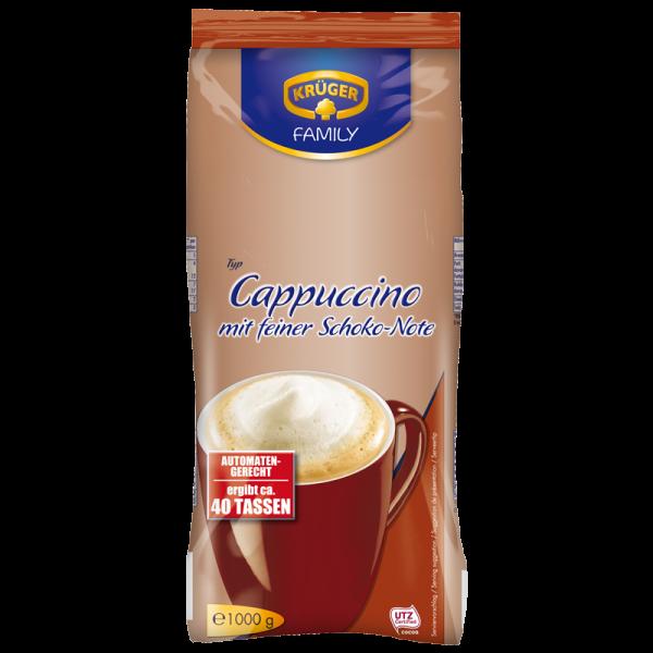 kr ger cappuccino mit feiner kakaonote 1000g family kaffeespezialit ten kr ger online shop. Black Bedroom Furniture Sets. Home Design Ideas