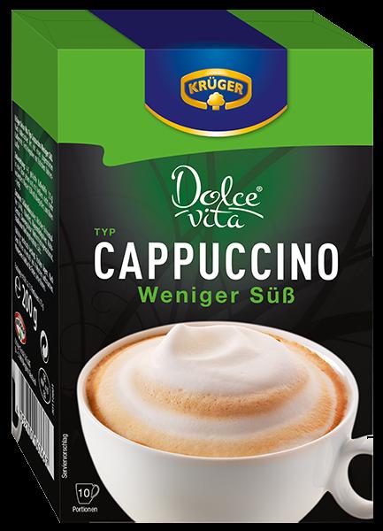 KRÜGER Dolce Vita Cappuccino weniger süß