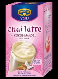 KRÜGER Typ chai latte Exotic India, Kokos-Mandel