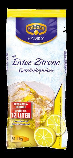 KRÜGER FAMILY Getränkepulver Eistee Zitrone